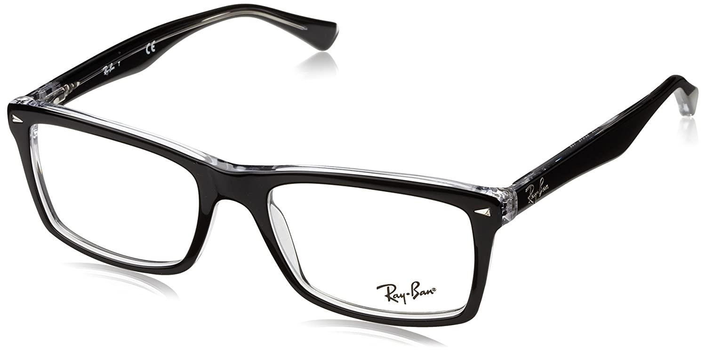 Ray-Ban RX5287-Gläser in dunklen Havanna RX5287 2012 52: Amazon.de ...