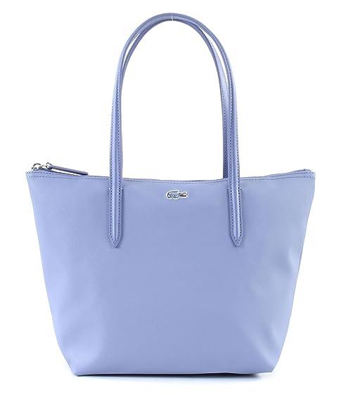 bfaffd2f1efb21 LACOSTE L.12.12 Concept S Shopping Bag Stonewash: Amazon.it: Scarpe e borse