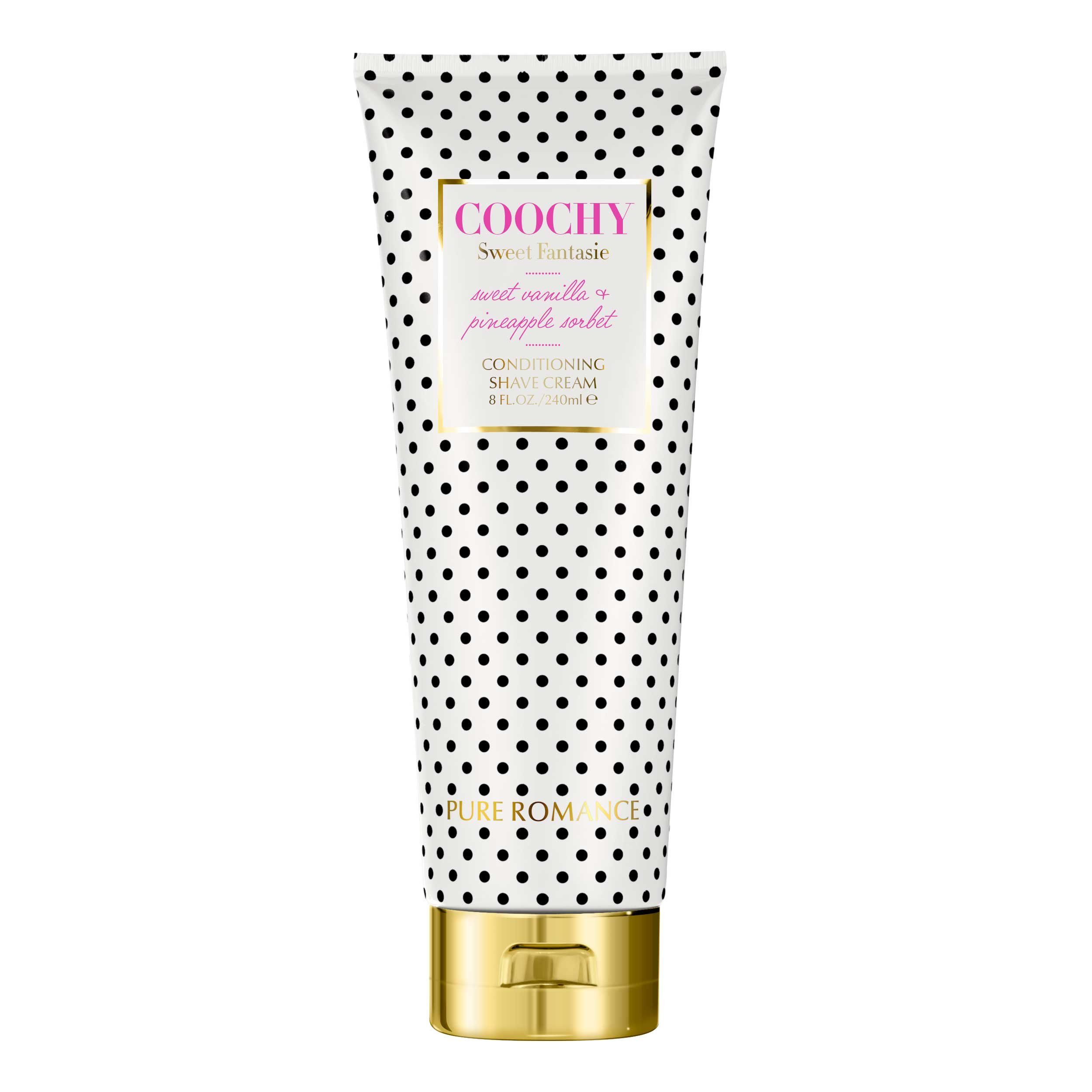 Coochy Conditioning Shave Cream Sweet Fantasie by Pure Romance by Pure Romance
