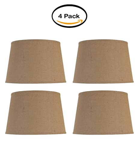 PACK OF 4   Better Homes And Gardens Large Lamp Shade, Burlap