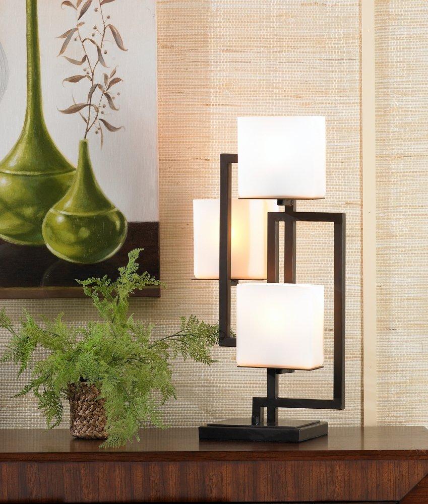 Possini Euro Design On The Square Accent Table Lamp   Possini Euro Lighting  Table Ligt   Amazon.com