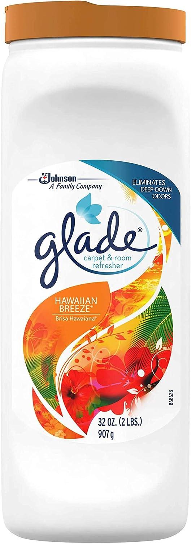Glade Carpet & Room, Hawaiian Breeze, 32-Ounce - Pack of 3