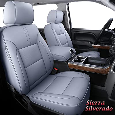 Seat Covers Premium Leatherette For Chevy Silverado 1500 Custom Fit