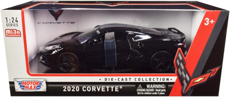 Motormax 2020 Chevrolet Chevy Corvette C8 Stingray 1//24 Scale Car Model 79360 RD