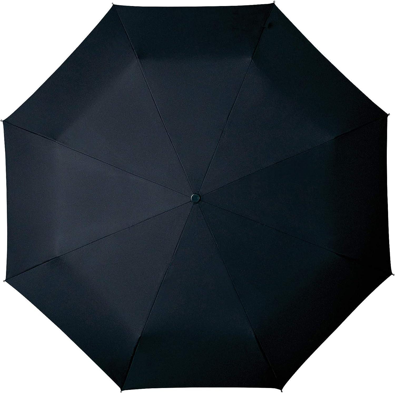 Large Protection de 1 M/ètre Parapluie Pliant Automatique Noir avec Poign/ée Bois Parapluie Pliable pour Homme Parapluie Classe et Haut de Gamme de Qualit/é