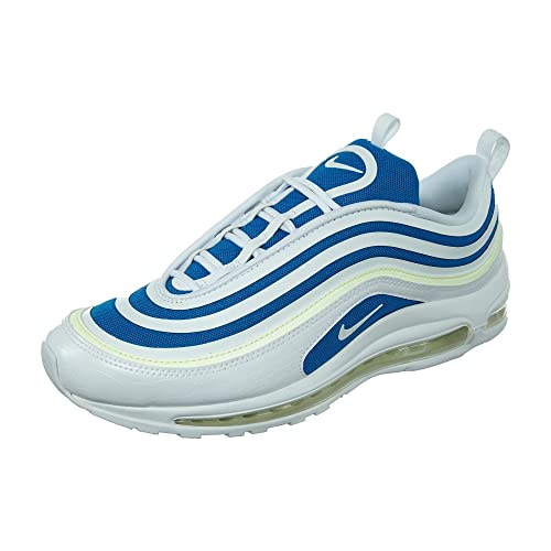 buy online f48c2 2721c Zapatillas NIKE Air MAX 97 Ultra Blanco Azul Mujer  Amazon.es  Zapatos y  complementos