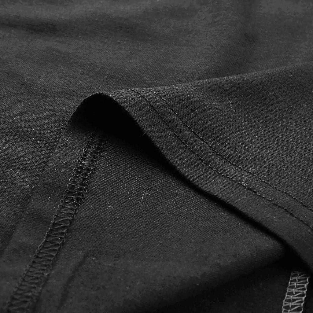 Moda Cosiendo Impresi/ón Ocio Suelto Cuello Redondo Mujer Manga Larga Tops C/ómodo Dama Camisetas Jers/éis Verano Se/ñoras Sudaderas Dama Camisa T-Shirt MEIbax Fitness Ejercicio Running Deportiva