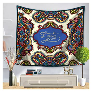 Amazon Com Famulei Handicrafts Warm Words Blessing Tapestry Wall