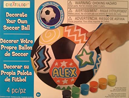 Amazon Creatology Decorate Your Own Soccer Ball Toys Games Extraordinary Decorate Your Own Soccer Ball