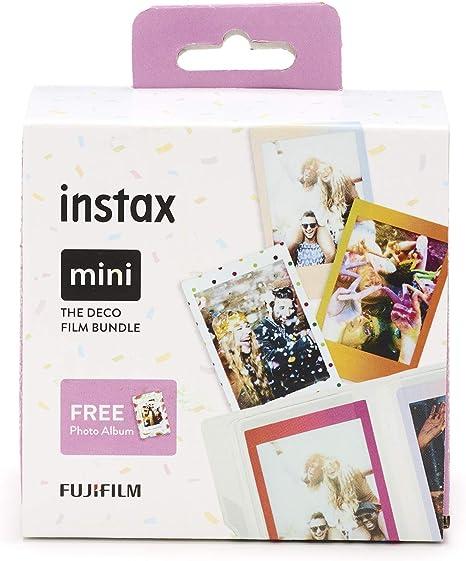 Fujifilm Instax - Mini película, clasic kit (3 x 10 hojas): Amazon ...