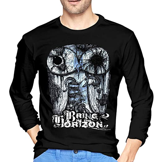 1d8687892a6 GabrielR Men s Bring Me The Horizon Long Sleeve T-Shirt Black ...