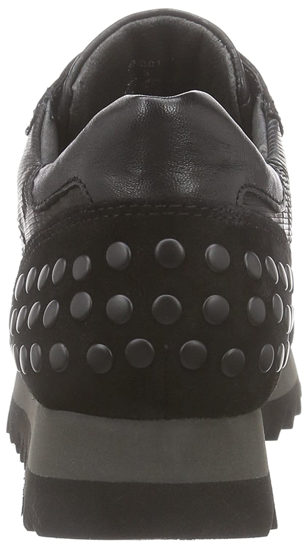 Gabor Schuhes 33.301 Damen Sneaker Schwarz (Schwarz (Nieten) (Nieten) (Schwarz 17) 835d35