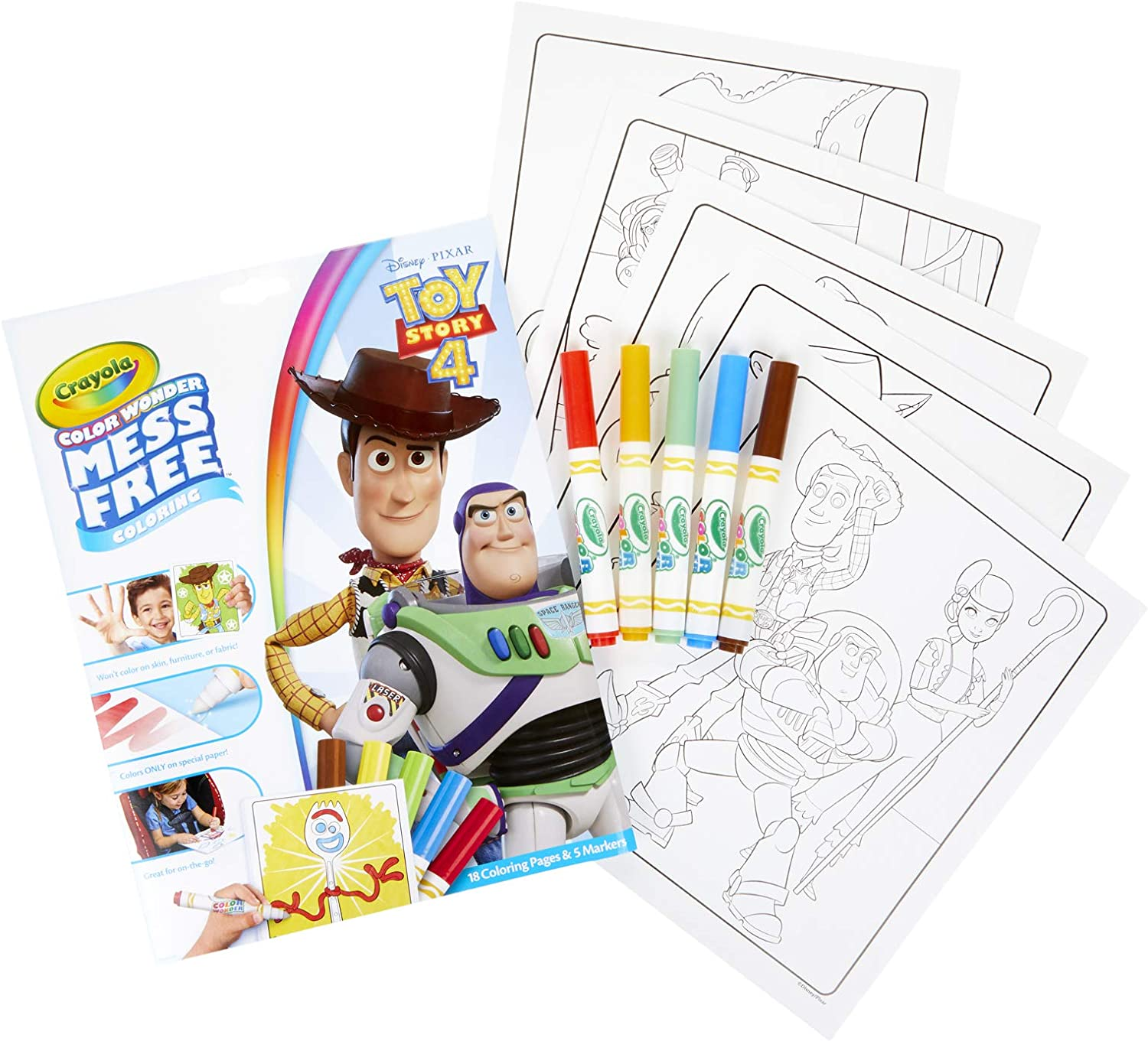 Free Printable Toy Story Coloring Pages For Kids | 1361x1500