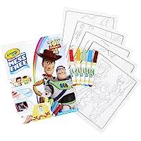 CRAYOLA Kleurplaten PAD & MARKR STORY4, Toy Story 4, One Size