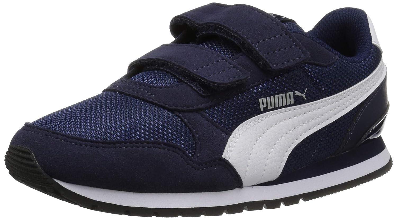 PUMA St Runner V2 Mesh Kids Sneaker Velcro Closure