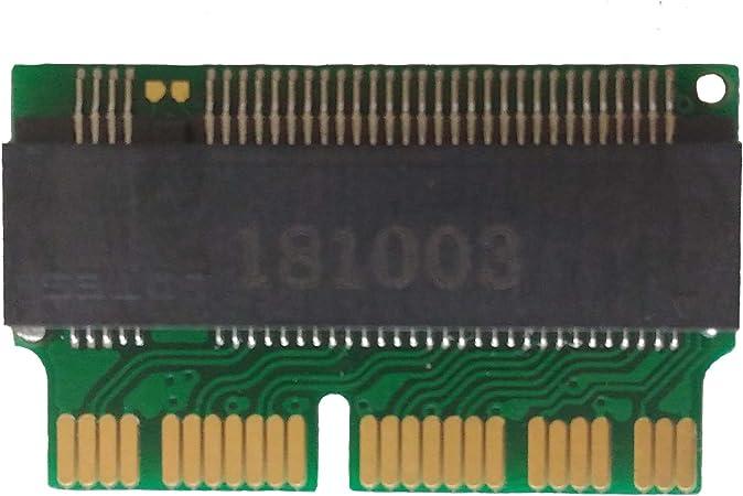 28Pin 12+16Pin NGFF M.2 NVME SSD Adapter Card For Upgrade 2013-2015 Macbook Air