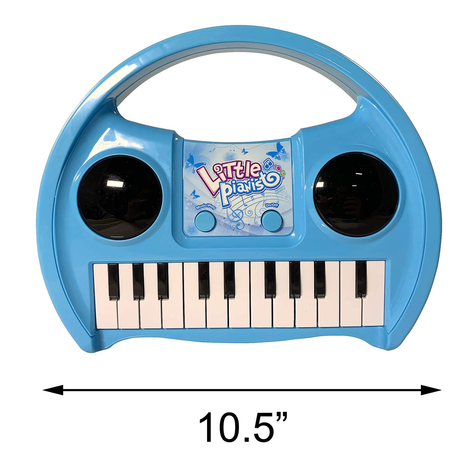 KidPlay Products Little Pianist Singing Musical Karaoke Lights Up Keyboard by KidPlay Products (Image #4)