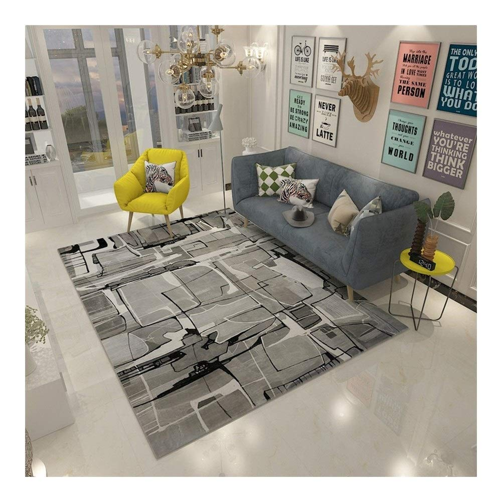 Amazon.com: Rugs Unique Collection Textured Modern Runner ...