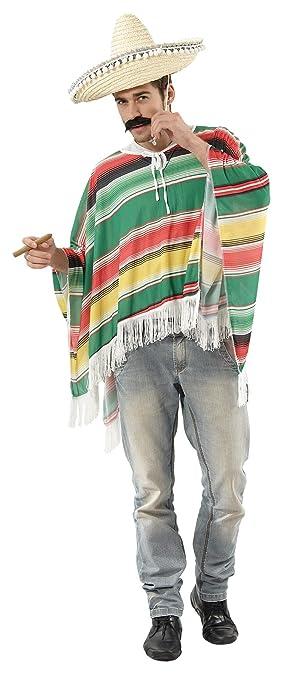 Disfraz de mejicano para hombre Talla única: Amazon.es: Juguetes y ...