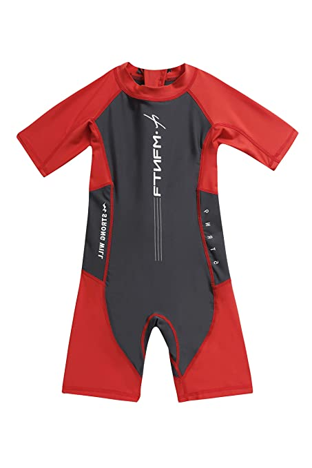 e1c2f6c6a0 Amazon.com: IvyH Kids Swimsuit - One Piece Swimwear Boys Wetsuit Zip Girls  Surfing Diving Suits Beachwear Swimming Costume UV Sun Protection UPF 50+:  Sports ...