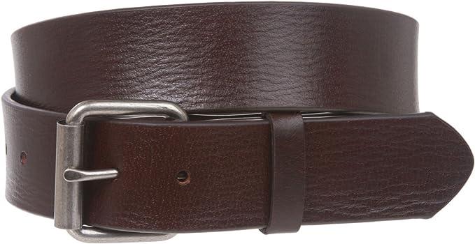 "1.5/"" Snap On Oil Tanned Top Grain Genuine Vintage Retro Leather Belt."