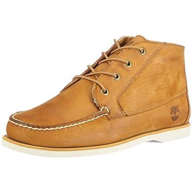 Timberland Men s Classic Boat FTM Boat Chukka Shoes Brown Size  10.5 ... 069b74b6f