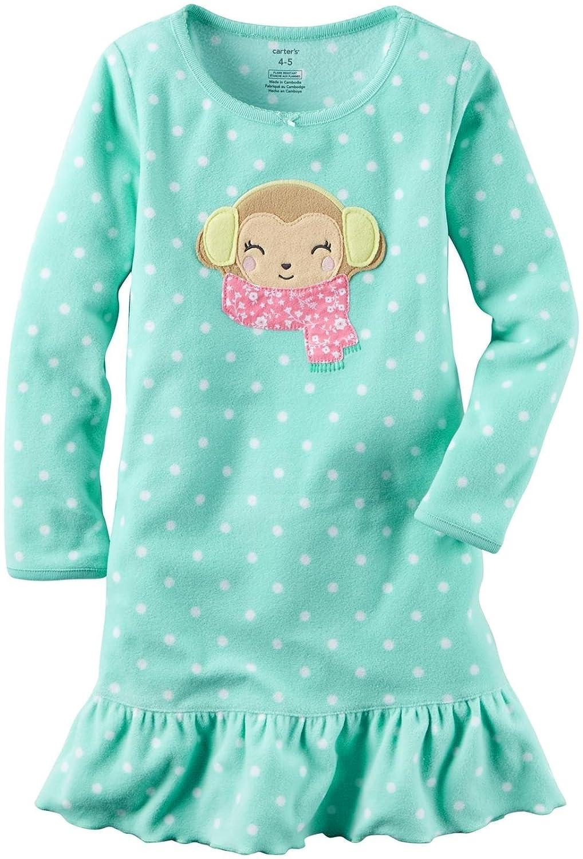 Carters Girls Fleece Gowns 377g129