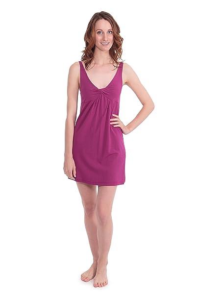 fea565a5ab Women s Luxury Bamboo Viscose Nightgown - Stylish Cozy Sleepwear ...