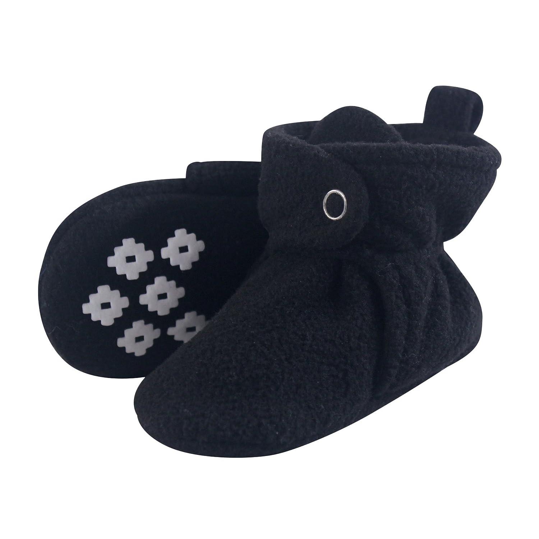 6da677037e8 Little Treasure Baby Boys' Cozy Fleece Booties with Non Skid Bottom