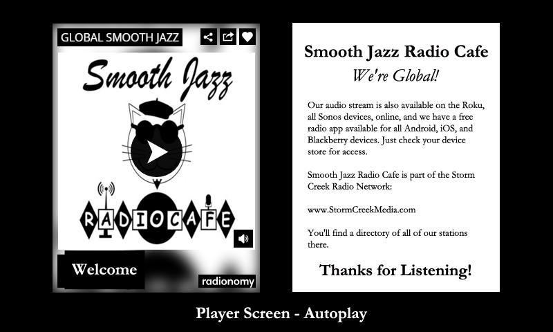 Smooth Jazz Radio Cafe