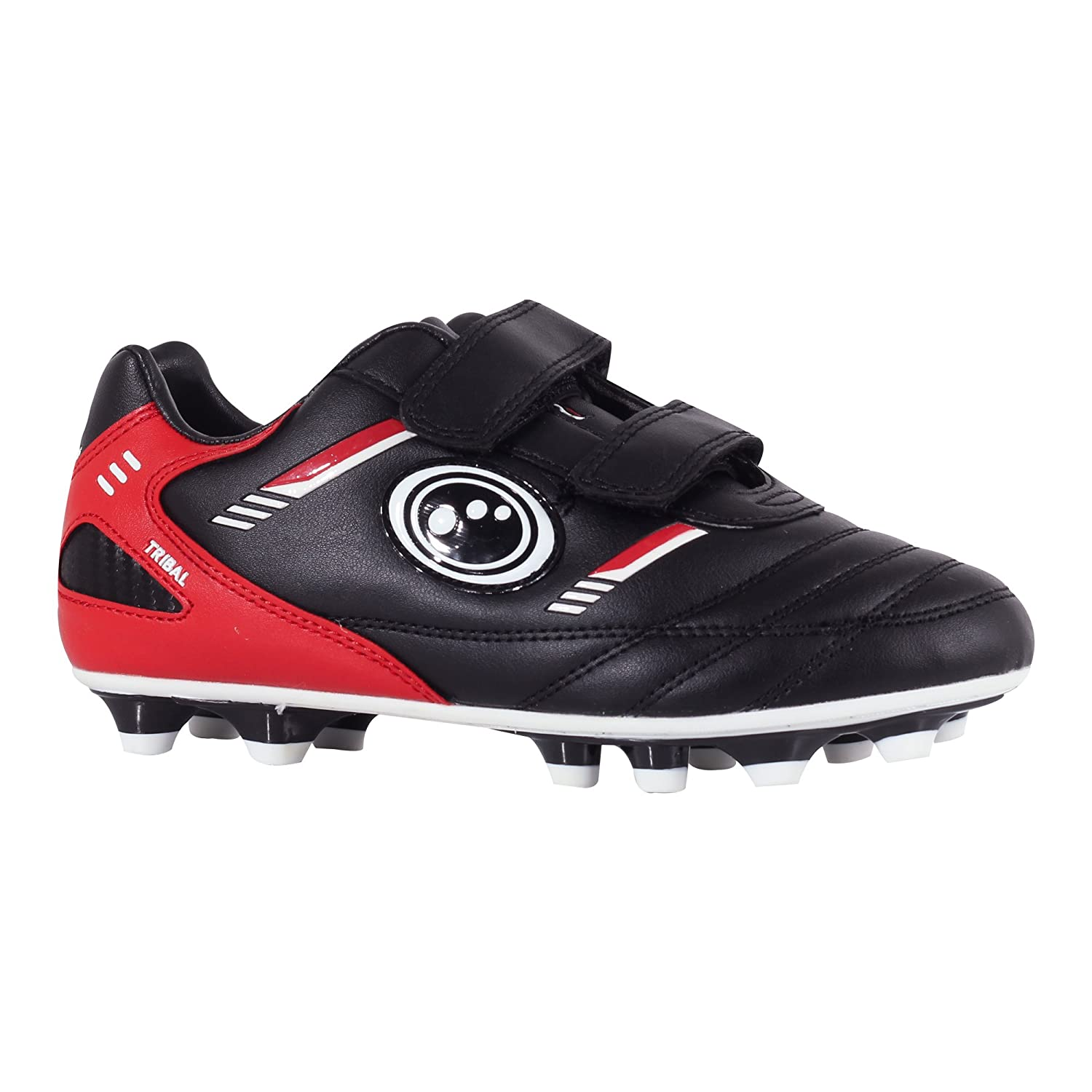 Optimum Tribal Moulded Stud, Boys Football Boots