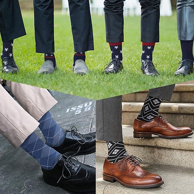 Amazon.com: Crazy Eleven - Calcetines para hombre con diseño ...