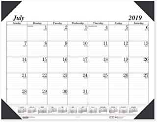 product image for House of Doolittle 2019-2020 Monthly Desk Pad Calendar, Academic, Economy, 22 x 17 Inches, July - August (HOD12502-20)