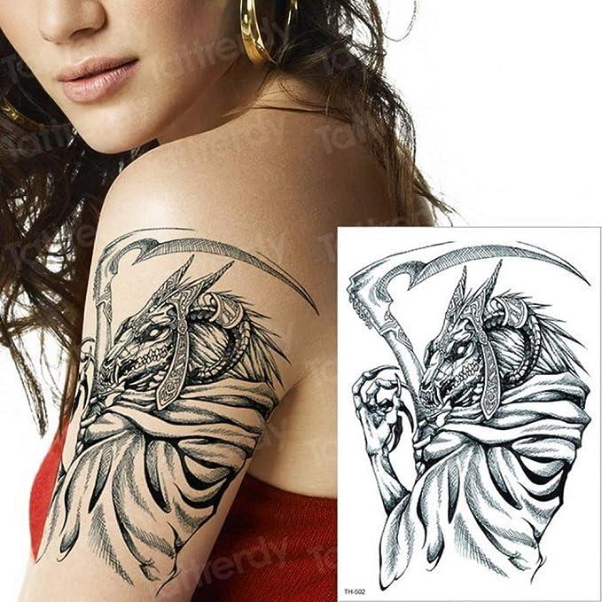3pcs Tatuaje de Agua Tatuaje de Rosa Tatuaje de Mujer Brazo Manga ...