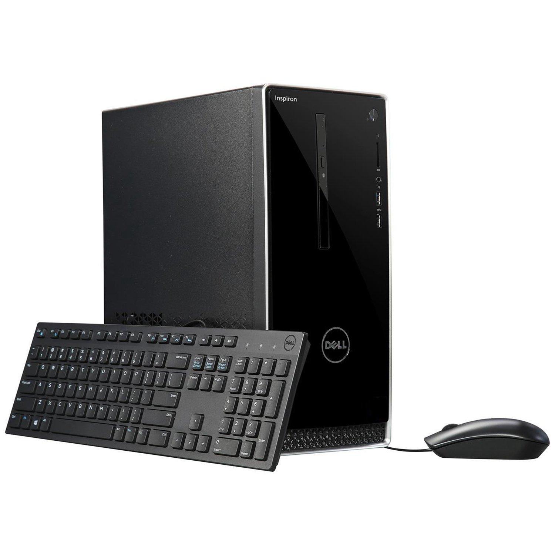 Dell Inspiron i3668 Desktop - 7th Generation Intel Core i7-7700 Processor up to 4.2 GHz, 32GB DDR4 Memory, 256GB SSD + 2TB SATA Hard Drive, Intel HD Graphics, DVD Burner, Windows 10 Pro by Dell_Computers (Image #6)