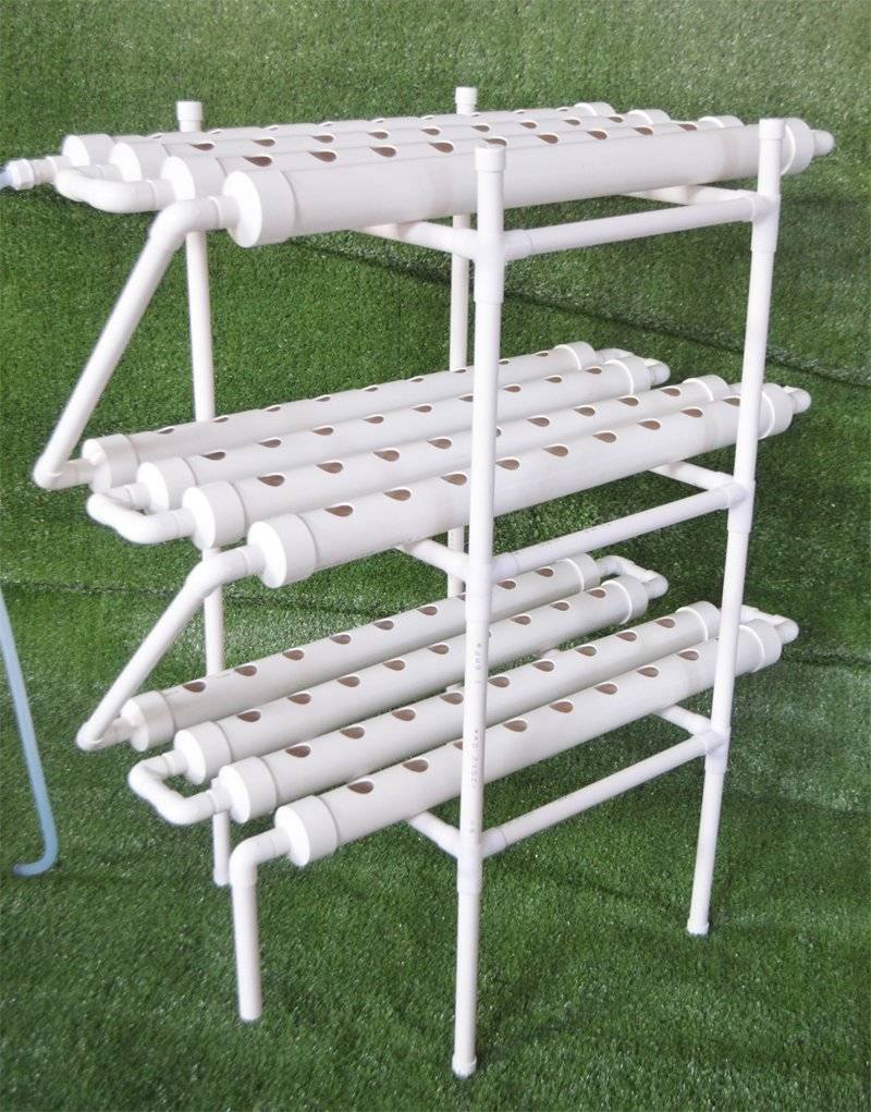 Hydroponic Grow Kit 108 Plant Sites Horizontal 12 Pipes 3 Layers 110V Pump (Item # 141122) by Tool