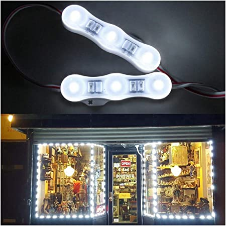 Amazon.com: 25 ft tienda luz LED impermeable IP68 120pcs ...