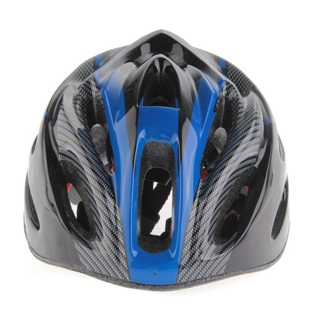 Casco Ciclismo Con Visera Azul Bici Bicicleta Mountain bike Helmet