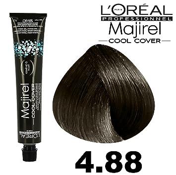 Amazon.com: L\'Oreal Majirel Cool Cover Hair Colour 50ml - 4.88 ...