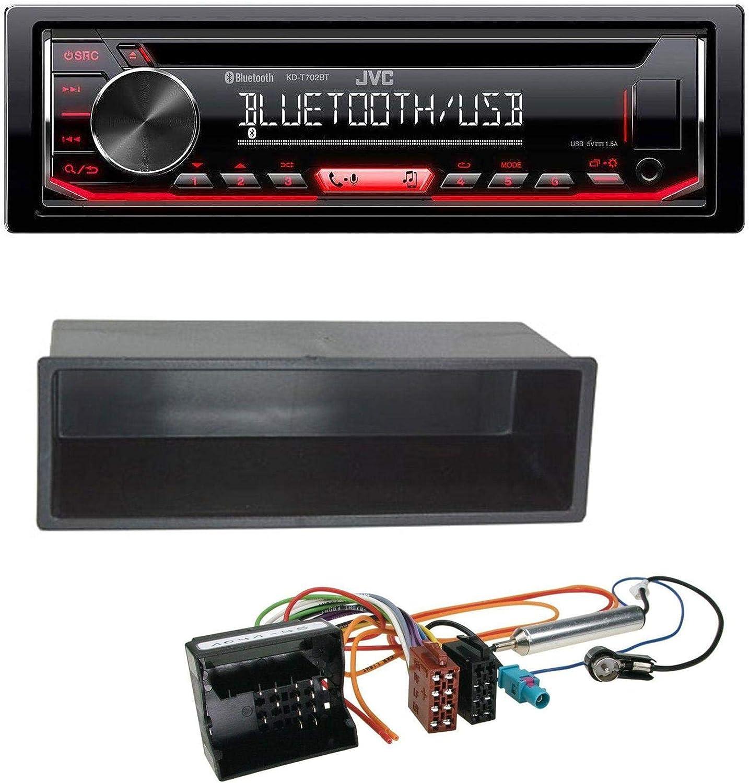 caraudio24 JVC KD-T702BT - Radio para Coche con Bluetooth y MP3 y ...