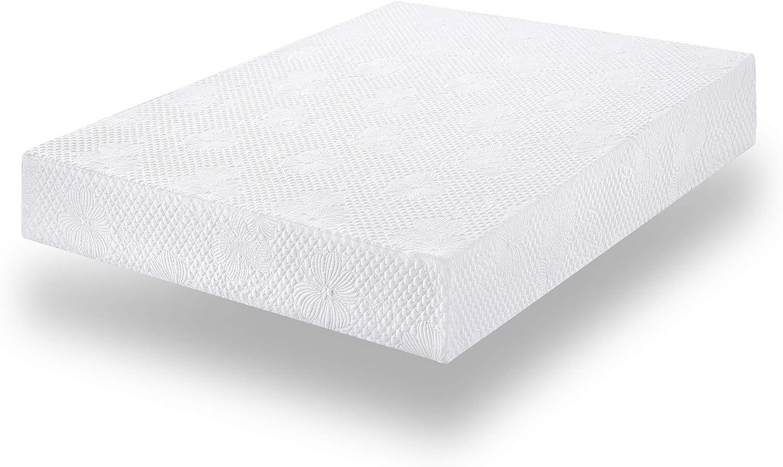 Twin SLEEPLACE 9 inch Luna Multi-Layered Memory Foam Mattress