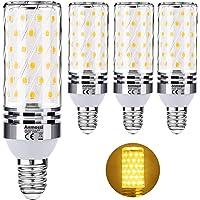 Anmossi Bombilla LED E14,Blanco Cálido 3000K,1200Lm,12W E14 Maíz…