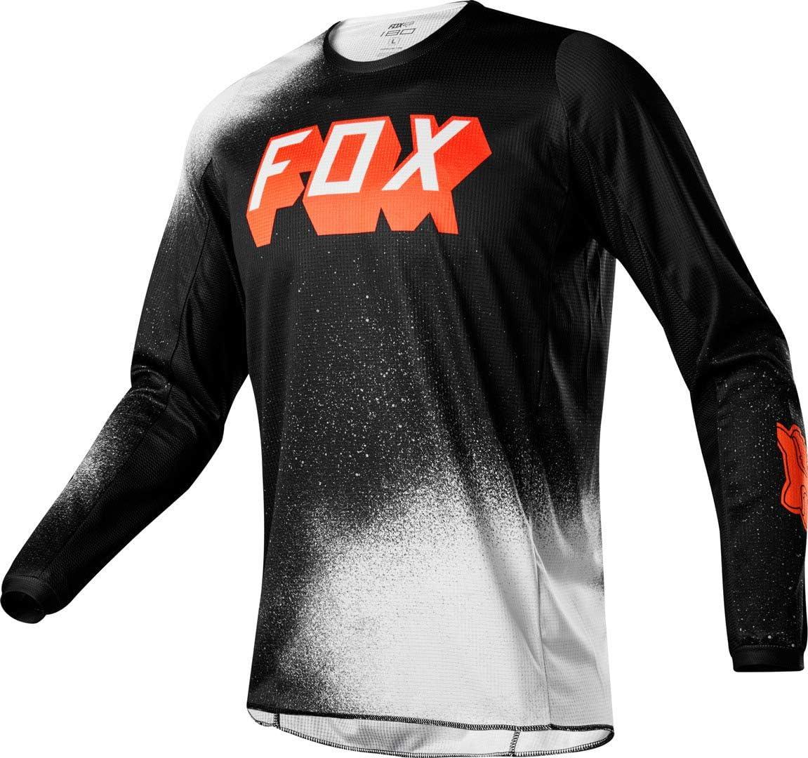 2020 Fox Racing 180 BNKZ Jersey-Grey-S