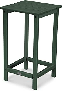 """product image for POLYWOOD ECT26GR Long Island 26"""" Counter Side Table, Green"""