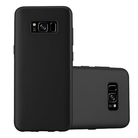 Cadorabo Funda para Samsung Galaxy S8 Plus en Metallic Negro: Amazon.es: Electrónica