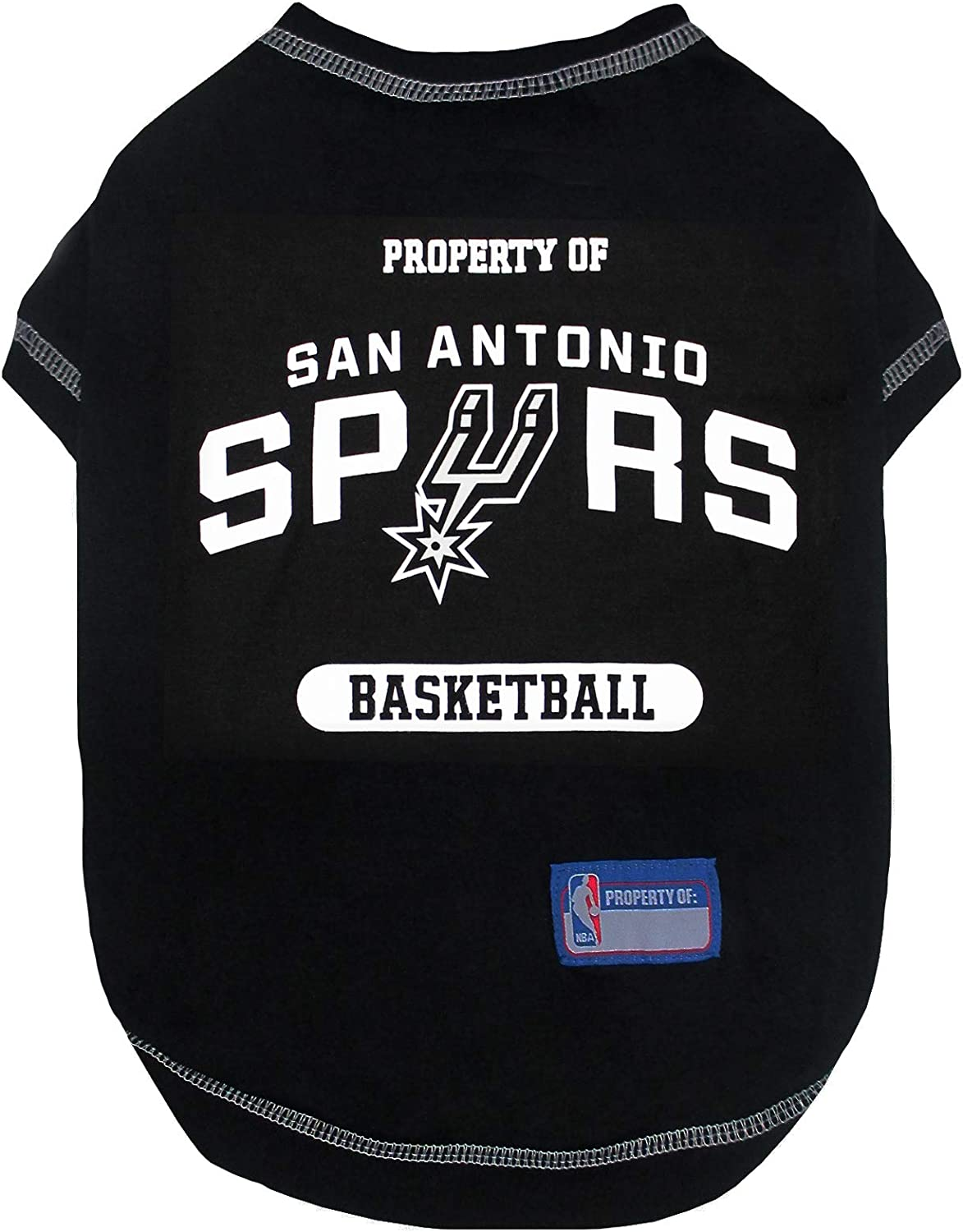 Pets First Licensed Hoodies and T-shirt for Dogs /& Cats available in Various Basketball team and various sizes