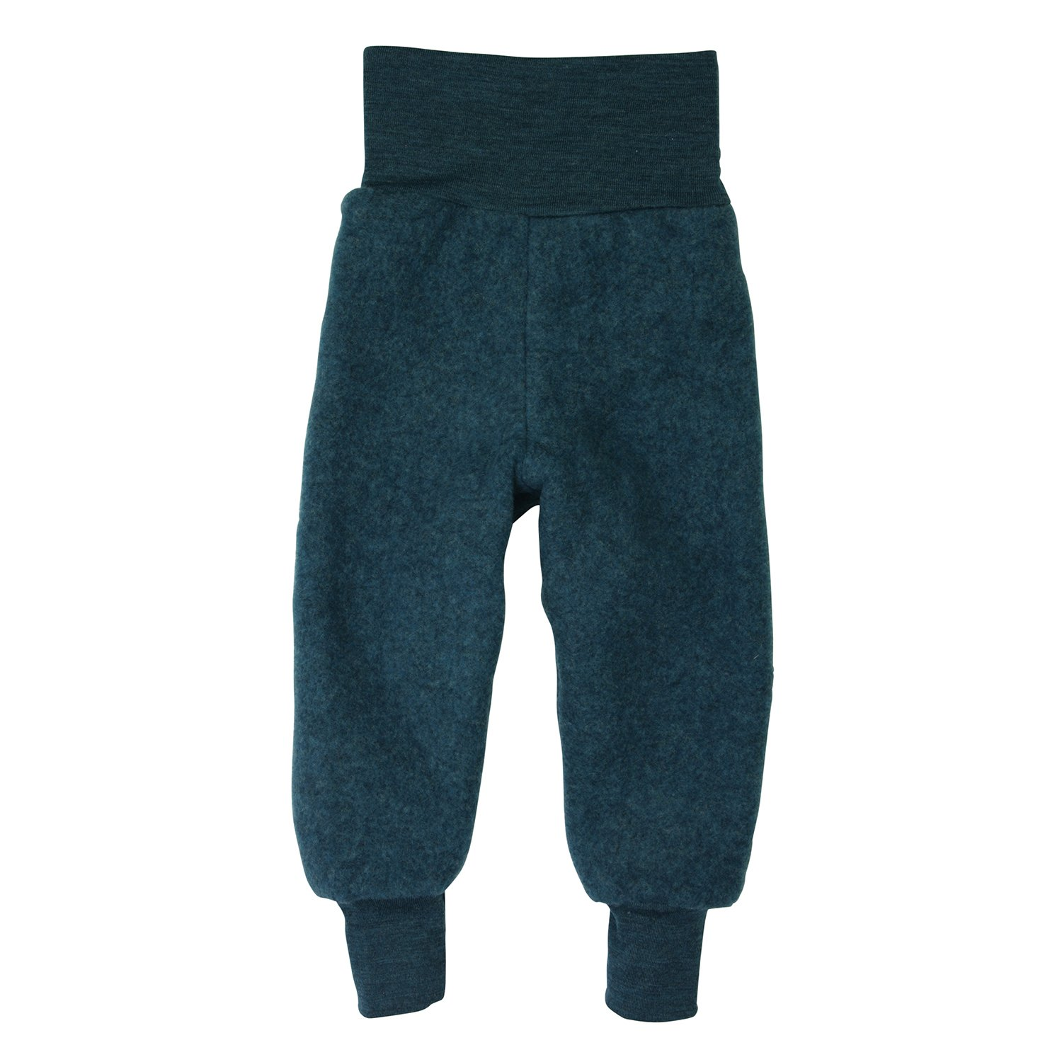 Organic Merino Wool Fleece Baby Trousers Blue Engel 573501
