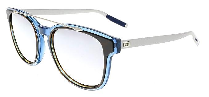 Dior BLACKTIE211S DC VVS Gafas de sol, Azul (Mtbluee Silv ...