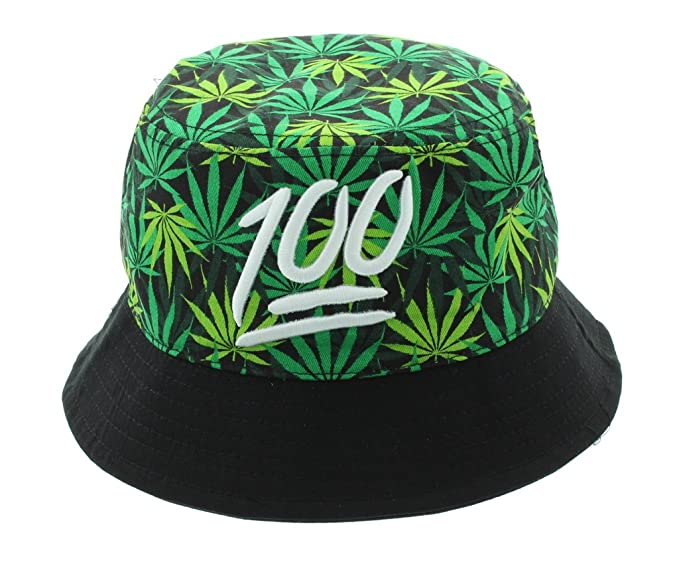 b4464154d26 Keep It 100 Printed Mary Jane Weed Bucket Hat at Amazon Men s Clothing  store