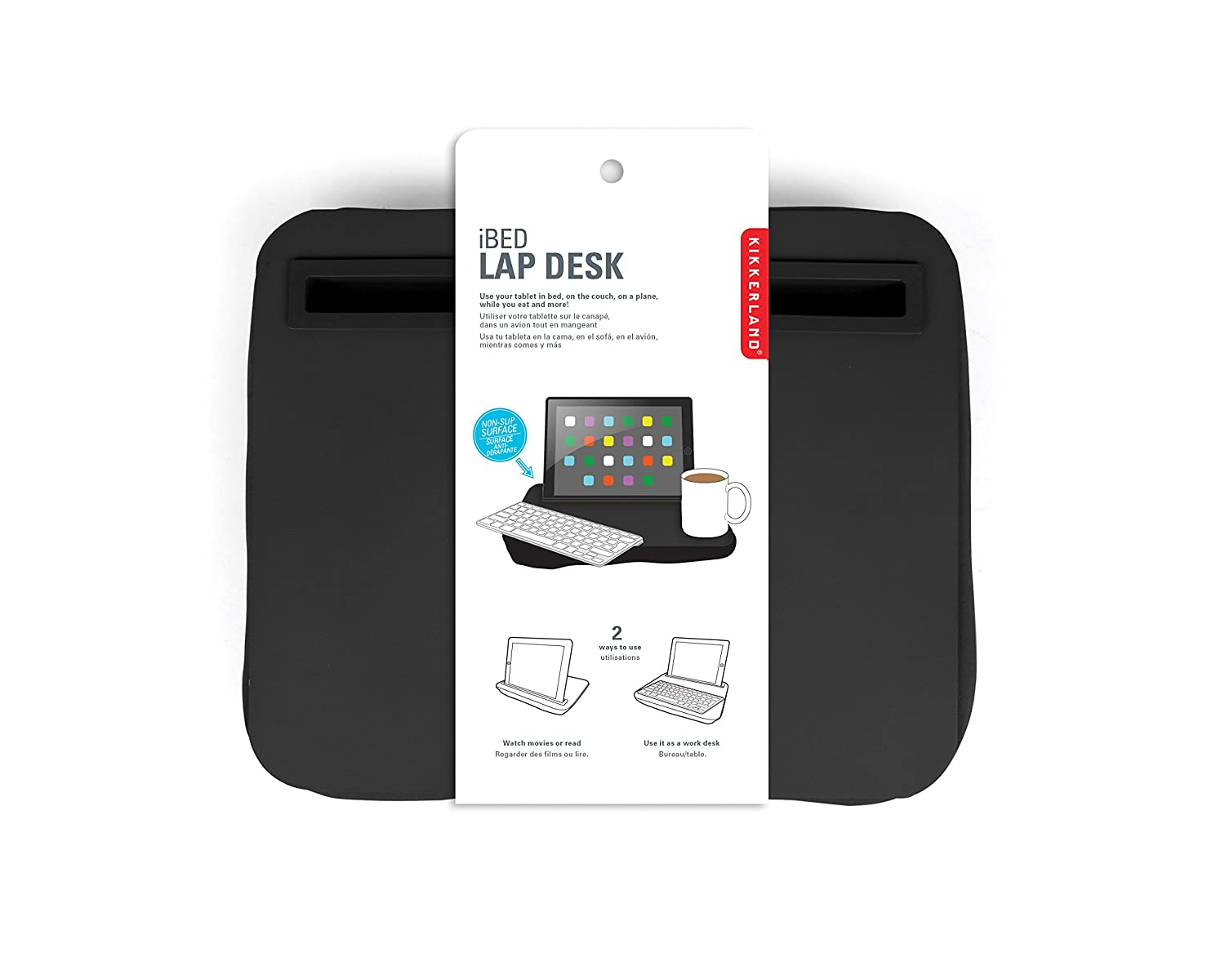 Wonderful Amazon.com: Kikkerland IBed Lap Desk For Tablets (US039 R): Computers U0026  Accessories Great Ideas